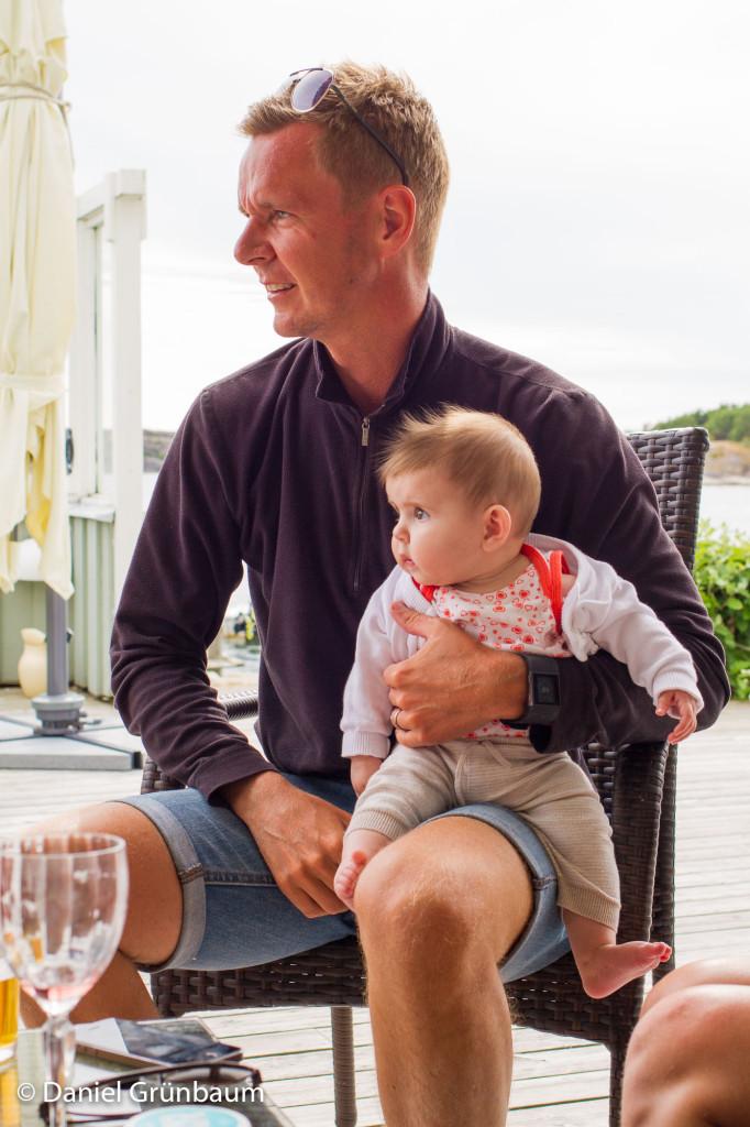 Tomas och Kajsa, bilden från i somras i Fjällbacka